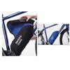 BIKERSOWN Rahmen-Akkuschutz für Yamaha schwarz/blau